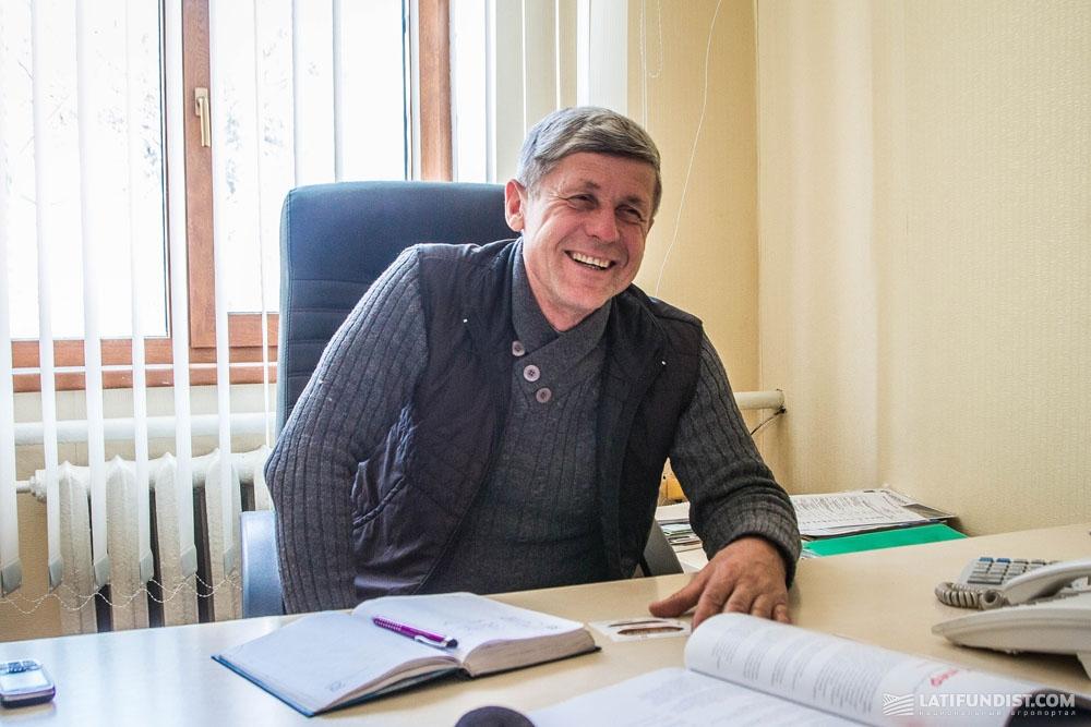 Сергей Жерновой, директор по сельскому хозяйству